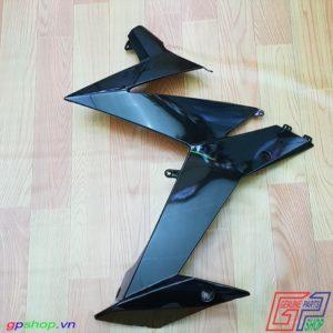 Bửng trái Satria F150 Fi đen bóng - Bửng trái Raider R150 Fi đen bóng