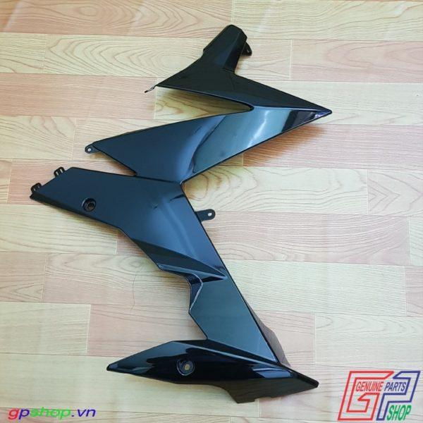 Bửng phải Satria F150 Fi đen bóng - Bửng phải Raider R150 Fi đen bóng