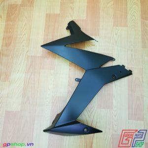 Bửng trái Satria F150 Fi nhám đen - Bửng trái Raider R150 Fi đen nhám