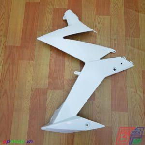 Bửng trái Satria F150 Fi trắng - Bửng trái Raider R150 Fi trắng