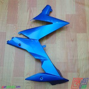 Bửng phải Satria F150 Fi xanh gp - Bửng phải Raider R150 Fi xanh gp. Yếm phải Satria