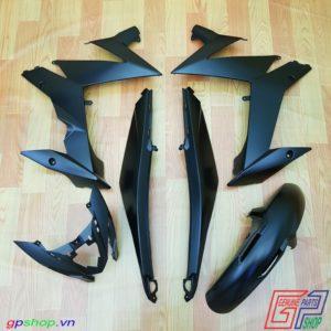 Dàn áo Satria F150 Fi đen nhám - Dàn áo Raider R150 Fi đen nhám