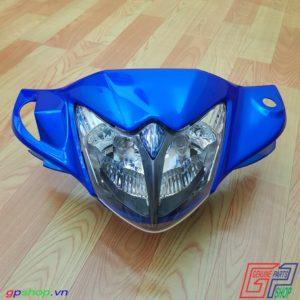 Đầu đèn Axelo 125 Indo màu xanh