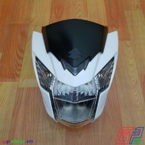 Đầu đèn Satria F150 Fi trắng - Đầu đen Raider R150 Fi trắng