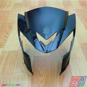 Nhựa đầu Satria F150 Fi đen bóng
