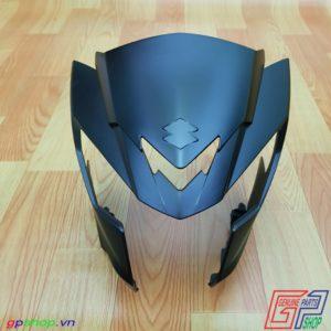 Nhựa đầu Satria F150 Fi đen nhám
