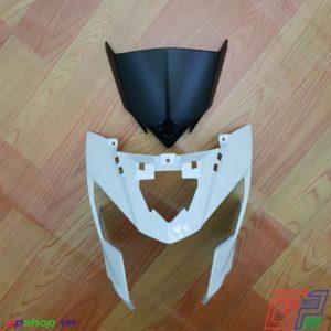 Nhựa đầu Satria F150 Fi trắng