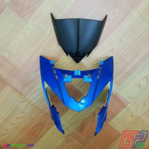 Nhựa đầu Satria F150 Fi xanh gp