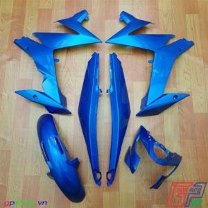 Dàn áo Satria F150 Fi xanh gp - Dàn áo Raider R150 Fi xanh gp