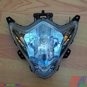 Chóa đèn Satria F150 Fu xanh
