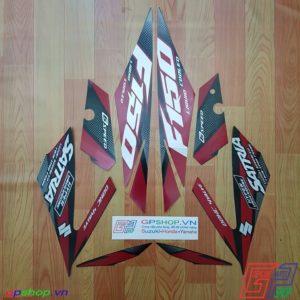 Tem Satria F150 Fi 2018 đỏ đen