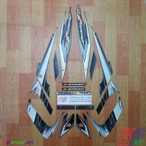 Tem Satria F150 Fu 2009 đen xám