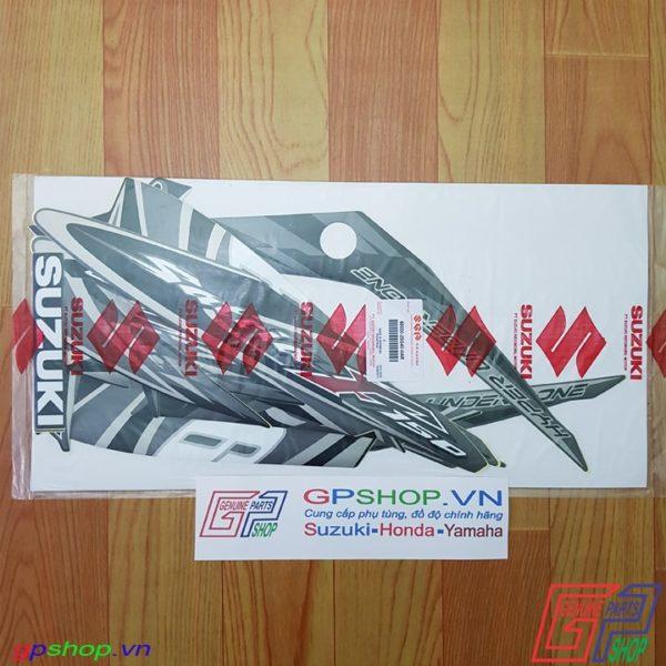 Tem Satria F150 Fu 2012 đen xám