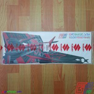Tem Satria F150 Fu 2014 đỏ