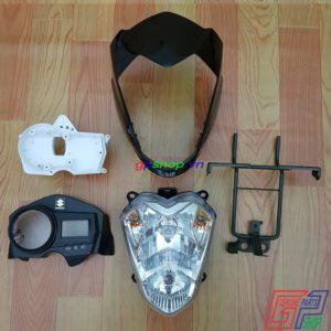 Đầu đèn Satria 2006 - Đầu nhỏ k6, Đầu đèn nhỏ Satria 2006. Phụ tùng Satria F150 | Phụ tùng Suzuki Indo | GPSHOP.VN - 0919778081