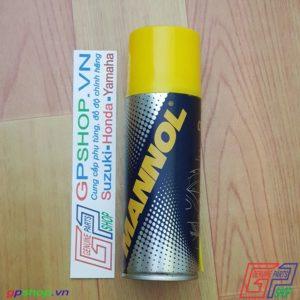 Chai dưỡng sên Mannol 7901 200ml, Dầu dưỡng sên Mannol 7901. Dùng cho hầu hết các dòng sên xích trên thị trường hiện nay | GPSHOP.VN