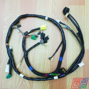 Dây điện sườn Raider R150 Fu - Satria F150 Fu, Dây điện sườn Satria F150 Fu, Dây điện sườn Fx 125 | Dây điện sườn | GPSHOP.VN - 0919778081