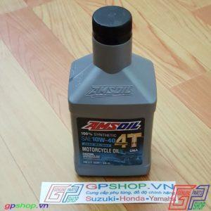 Nhớt Amsoil 4T SAE 10W40 946ml - Nhớt chuyên dùng cho các dòng xe số. Từ dòng phổ thông cho đến dòng PKL | GPSHOP.VN - 0919778081