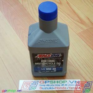 Nhớt Amsoil Metric SAE 10W40 946ml - Nhớt chuyên dùng cho các dòng xe số. Từ dòng phổ thông cho đến dòng PKL | GPSHOP.VN - 0919778081